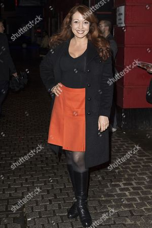 Editorial photo of 'The Infidel - The Musical' press night, London, Britain - 15 Oct 2014