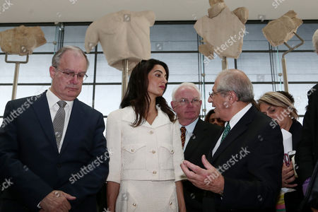 Editorial picture of Amal Clooney in Athens, Greece - 15 Oct 2014