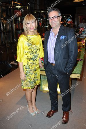 Editorial image of Etro 'Eden Collection' launch party, London, Britain - 15 Oct 2014
