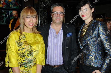 Editorial picture of Etro 'Eden Collection' launch party, London, Britain - 15 Oct 2014