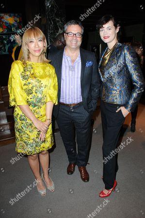 Stock Photo of Mika Ninagawa, Japopo Etro and Jasmine Guinness