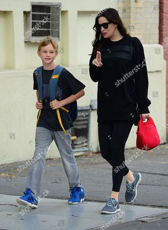 Milo Langdon and Liv Tyler