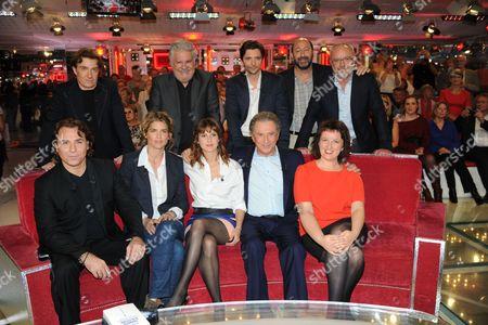 Roberto Alagna, Alice Taglioni, Michel Drucker, Elodie, Anne Roumanoff and Elodie Navarre