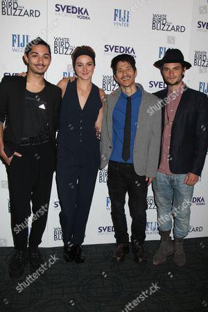 Mark Indelicato, Shailene Woodley, Gregg Araki, Shiloh Fernandez