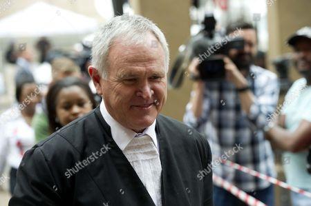 Lawyer Barry Roux