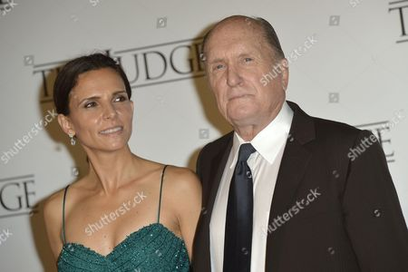 Robert Duvall with wife Luciana Pedraza