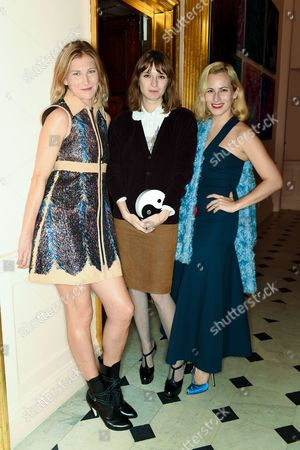 Elizabeth von Guttman, Valentine Fillol Cordier and Charlotte Dellal