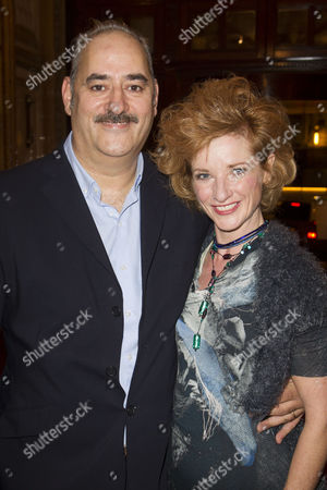 Ayub Khan-Din (Author/George Khan) and Jane Horrocks (Ella Khan)