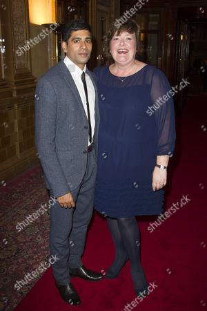 Darren Kuppan (Maneer Khan) and Sally Bankes (Auntie Annie)