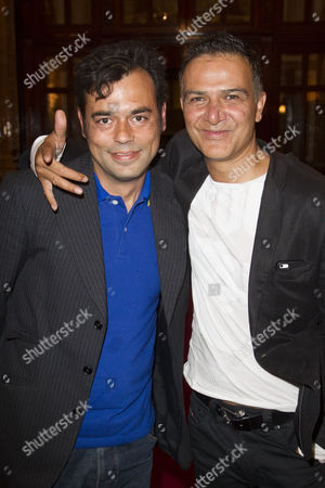 Stock Image of Emil Marwa and Ian Aspinall