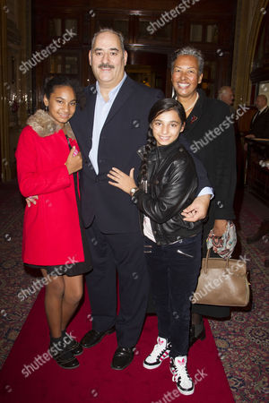 Isabel Armstrong-Din, Ayub Khan-Din (Author/George Khan), Amelia Armstrong-Din and Buki Armstrong