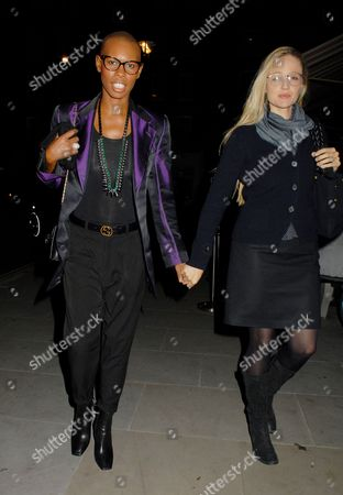 Editorial photo of Celebrities at the Chiltern Firehouse, London, Britain - 16 Oct 2014