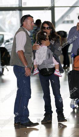 Penelope Cruz and daughter Luna Encinas Cruz