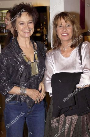 FRANCESCA ANNIS AND GISELA GETTY