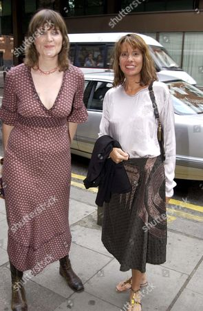 SOPHIE FIENNES AND GISELA GETTY