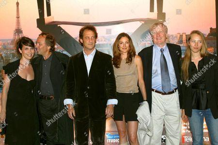 GERALDINE PAILHAS, FABRICE LUCHINI, VINCENT LINDON, CAMILLE JAPY, CLAUDE RICH AND ISILD LE BESCO