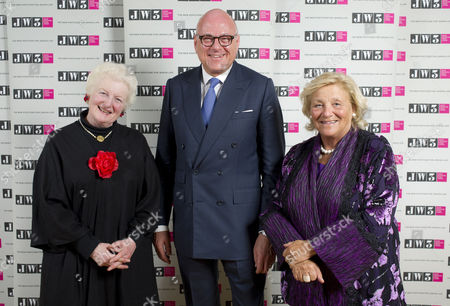 Baroness Julia Neuberger, Lloyd Dorfman and Dame Vivien Duffield.