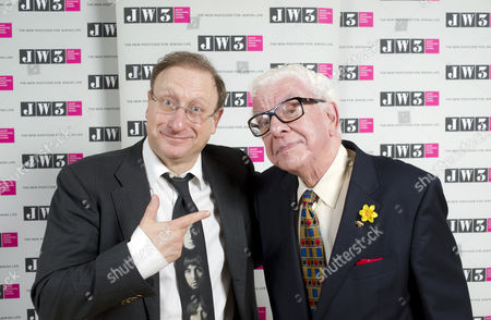 Dan Patterson and Barry Cryer
