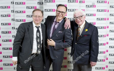 Stock Image of Dan Patterson, Raymond Simonson and Barry Cryer
