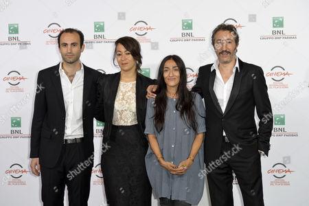 Khalid Abdalla, Tala Hadid, Zahra Hindi and Hocine Choutri