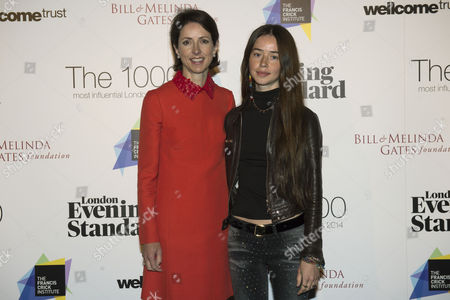 Helena Morrissey, CEO, Newton Investment Management and her daughter Chloe
