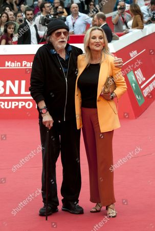Tomas Milian and Barbara Bouchet