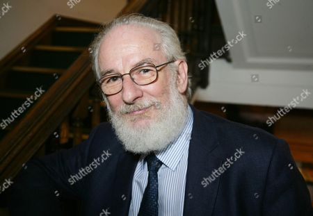 Editorial image of David Crystal 'You Say Potato: A Book About Accents' book discussion, Oxford, Britain - 17 Oct 2014