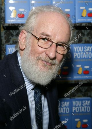 Editorial picture of David Crystal 'You Say Potato: A Book About Accents' book discussion, Oxford, Britain - 17 Oct 2014