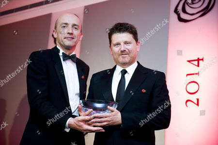 Arts and Entertainment Award, Winner Reece Dinsdale presented by Tim Smith