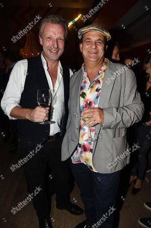 Stock Image of Hugo Burnand and Gerry Fox
