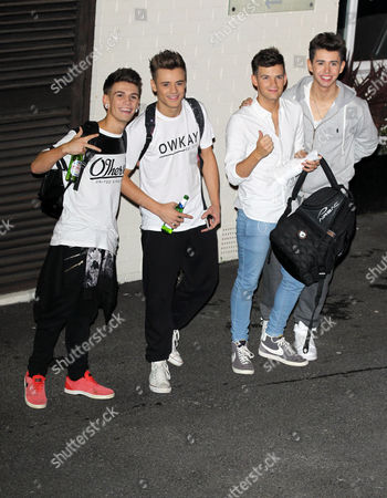 Editorial image of X Factor contestants at Fountain Studios, Wembley, London, Britain - 18 Oct 2014