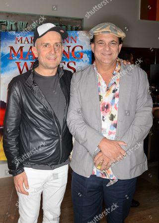 Marc Quinn and Gerry Fox