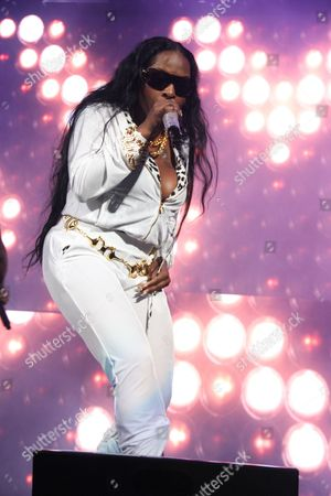 Editorial image of Def Jam 30 Anniversary Concert at the Barclays Center, New York, America - 16 Oct 2014