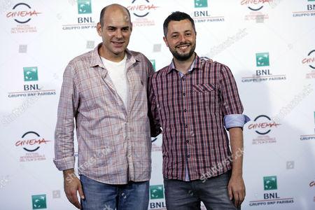 Director Marco Dutra and Marat Descartes