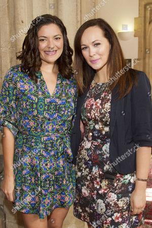 Jennifer DiNoia and Savannah Stevenson
