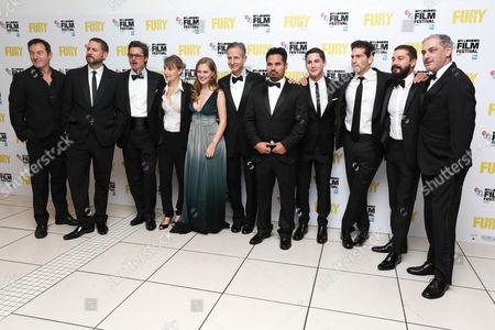 Jason Isaacs, David Ayer, Brad Pitt, Anamaria Marinca, Alicia Von Rittberg, Michael Pena, Logan Lerman, Jon Bernthal, Shia LaBeouf and John Lesher