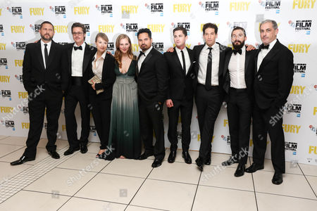 David Ayer, Brad Pitt, Anamaria Marinca, Alicia Von Rittberg, Michael Pena, Logan Lerman, Jon Bernthal, Shia LaBeouf and John Lesher