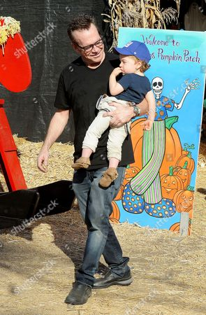 Tom Arnold and Jax Arnold