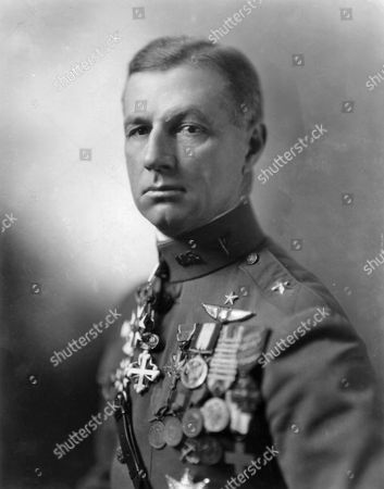General Billy Mitchell. His relations with superiors deteriorated as he began to attack both the War and Navy Departments for being insufficiently farsighted regarding airpower. His fight with the Navy climaxed with the dramatic bombing tests of 1921 and 1923 that sank several battleships, which Mitchell said proved that surface fleets were obsolete. Within the Army he also experienced difficulties, notably with his superiors, and in early 1925 he reverted to his permanent rank of colonel and was transferred to Texas. When 'Shenandoah' crashed in a storm and killed 14 of the crew, Mitchell issued his famous statement. He was court-martialed and suspended from active duty for five years without pay