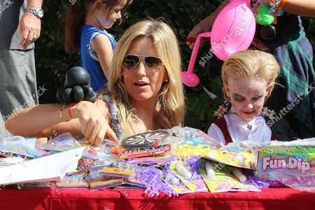 Penny Lancaster and Aiden Stewart