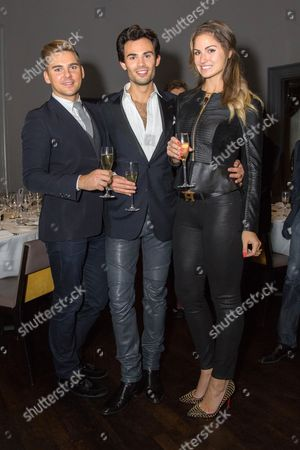 Editorial photo of Mark Francis Vandelli birthday party at Christopher's, London, Britain - 18 Oct 2014