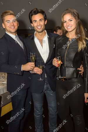 Stock Photo of Alex Bajcar, Mark Francis Vandelli, Gabriella Tristao