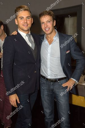 Editorial image of Mark Francis Vandelli birthday party at Christopher's, London, Britain - 18 Oct 2014