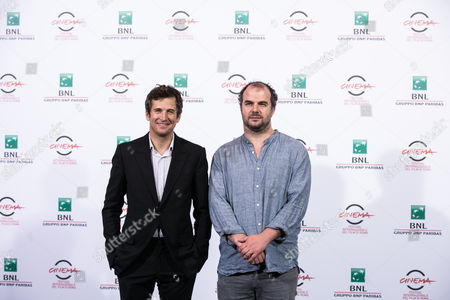 Guillaume Canet, the director Cedric Anger