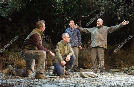 Miles Jupp as Angus Neil Morrissey as Neville,, Robert Webb as Roy, Adrian Edmondson as Gordon,