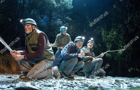 Miles Jupp as Angus, Neil Morrissey as Neville, Robert Webb as Roy, Adrian Edmondson as Gordon,