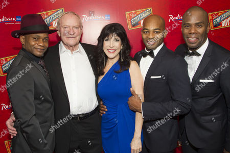 Forrest McClendon, Julian Glover, Catherine Schreiber, Brandon Victor Dixon and Colman Domingo