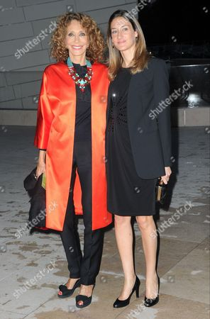Stock Picture of Marisa Berenson and Starlite Melody Randall