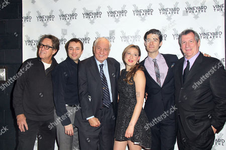 Larry Pine, Vincent Kartheiser, Director Garry Marshall, Sophie von Haselberg, Drew Gehling, Playwright Mike Benivenga