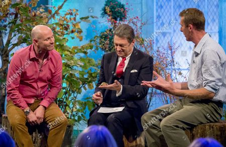 Mike Dilger, Alan Titchmarsh and